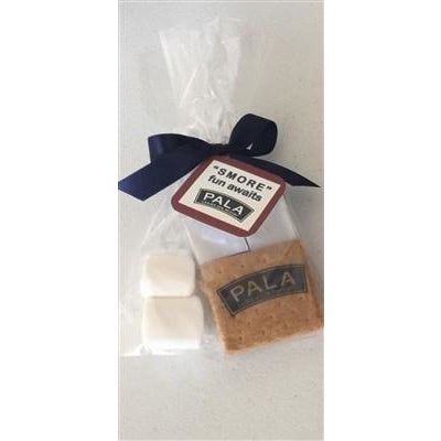 Custom S'more Kit with Printed Graham - Design using your logo