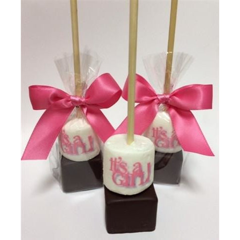 Hot Chocolate Stick - Custom Baby Shower