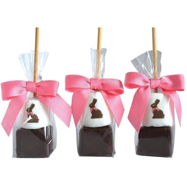 Hot Chocolate Stick - Chocolate Easter Bunny