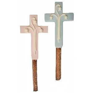 Pretzel Rods - Custom Molded Cross