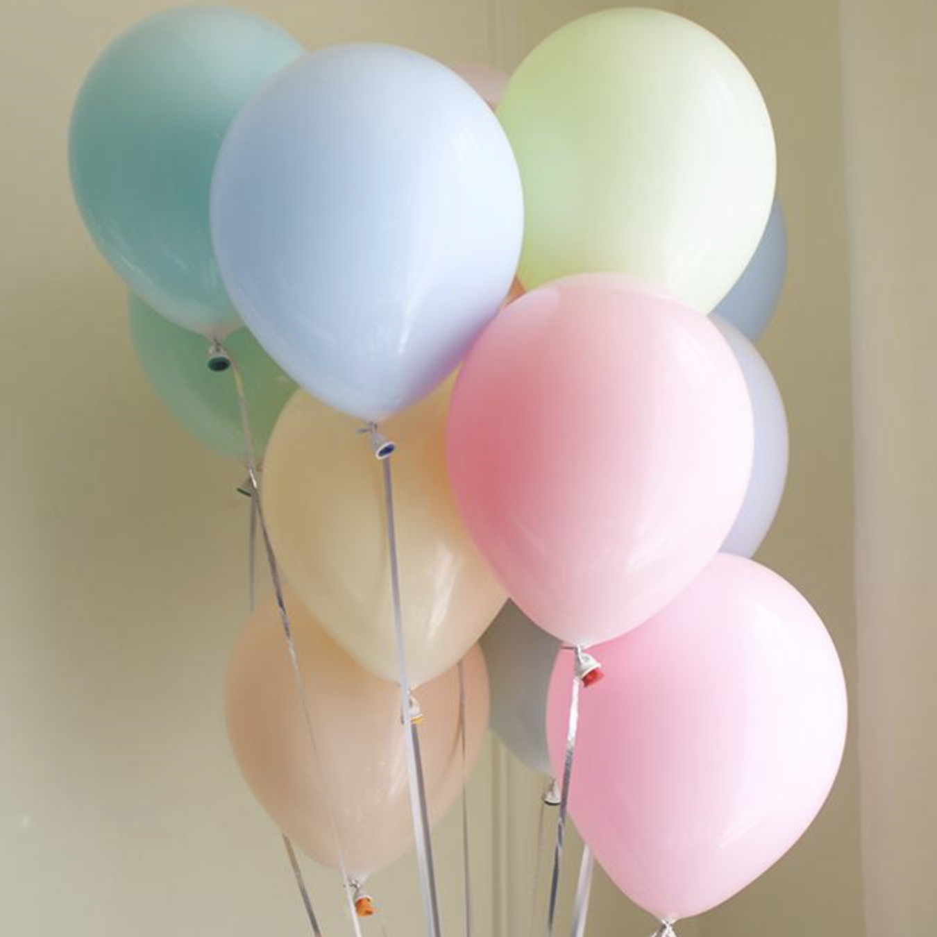 Pastel Macaron Latex Balloon Bouquet