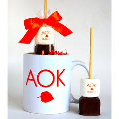 Hot Chocolate Stick - Your Logo or Design with Matching Mug