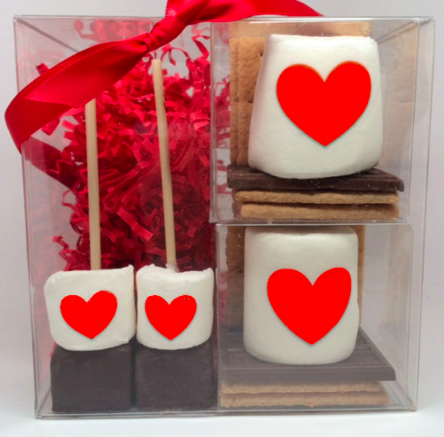 S'mores & Hot Chocolate Valentine's Day, Gift Set of 8pc
