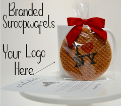 Branded Stroopwafel Cookie - Design your own