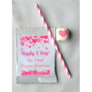 Hot Chocolate Mix - With Custom Marshmallows, Valentine's Day