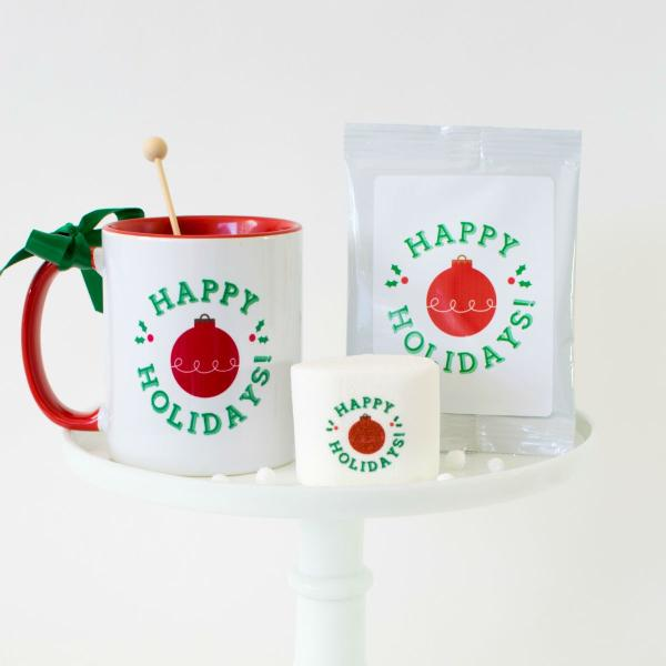 New! Hot Chocolate with Matching Mug Set