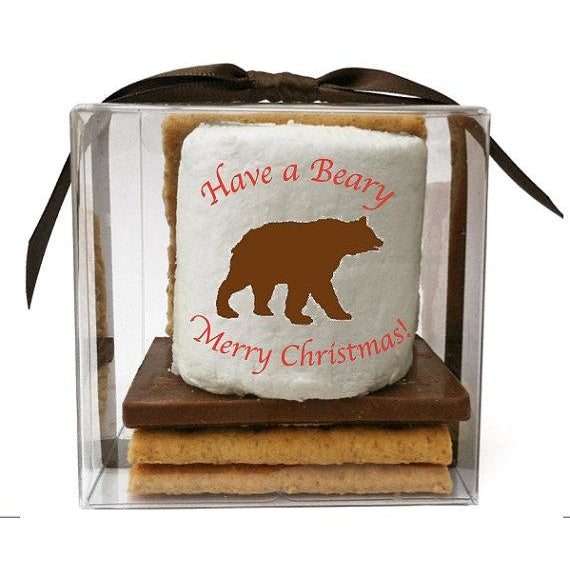 Custom S'more Kit - Holiday Design