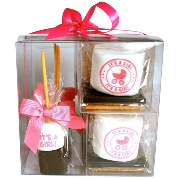 S'more Gift Set - It's A Girl!, Set of 8