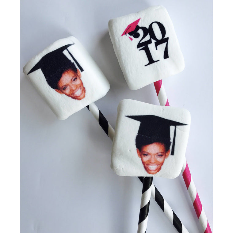 ImageMallows® Marshmallow Pops - Graduation
