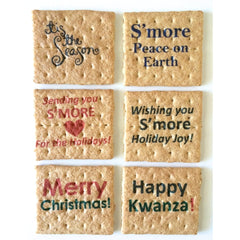 Printed Graham Cracker Squares - Holiday