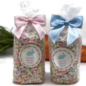 Dehydrated cereal marshmallows for Easter