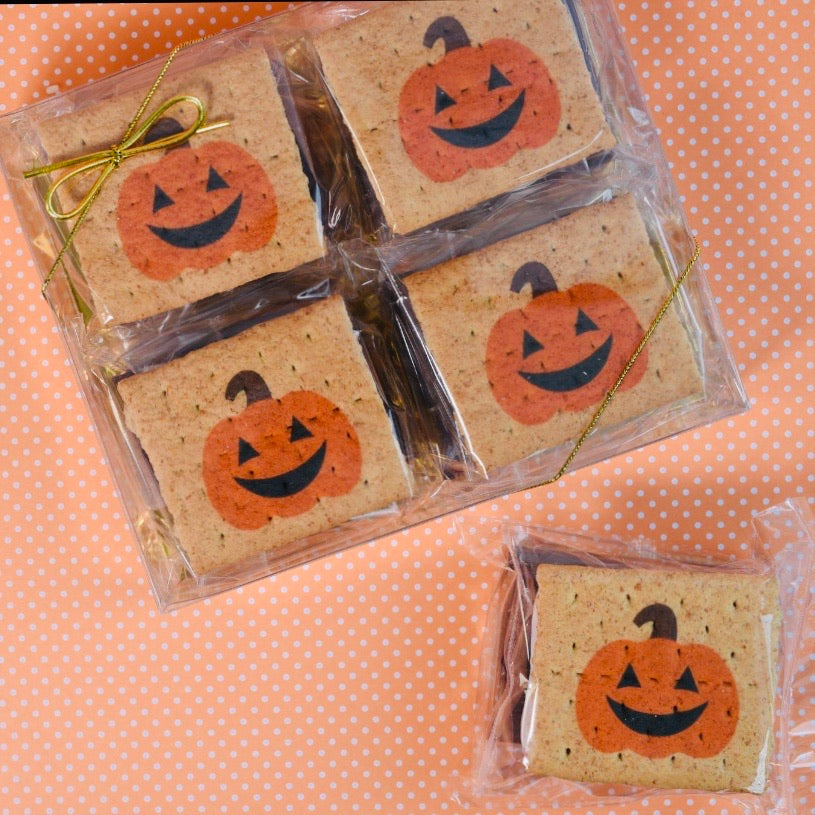 Halloween Graham Smore Packs Gift Set - 4 Pack