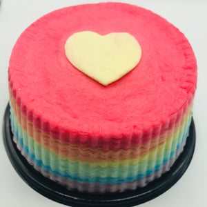 Gourmet Rainbow Cotton Candy Cake