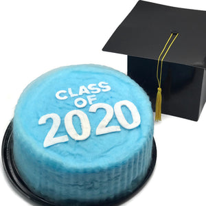 Graduation Cotton Candy Cake