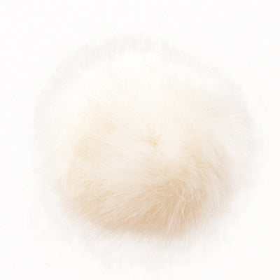 Fake Fur Pompoms - 13cm
