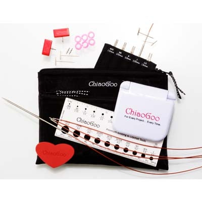 ChiaoGoo TWIST Red Lace Interchangeable Needles - Mini