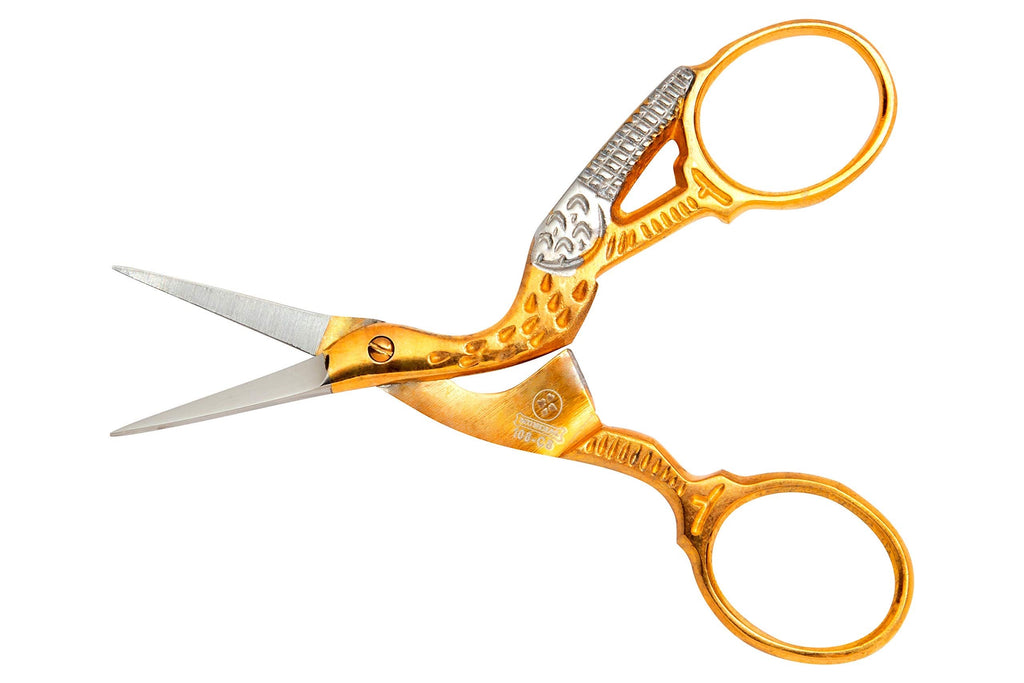 Mundial - Classic Stork Embroidery Scissors