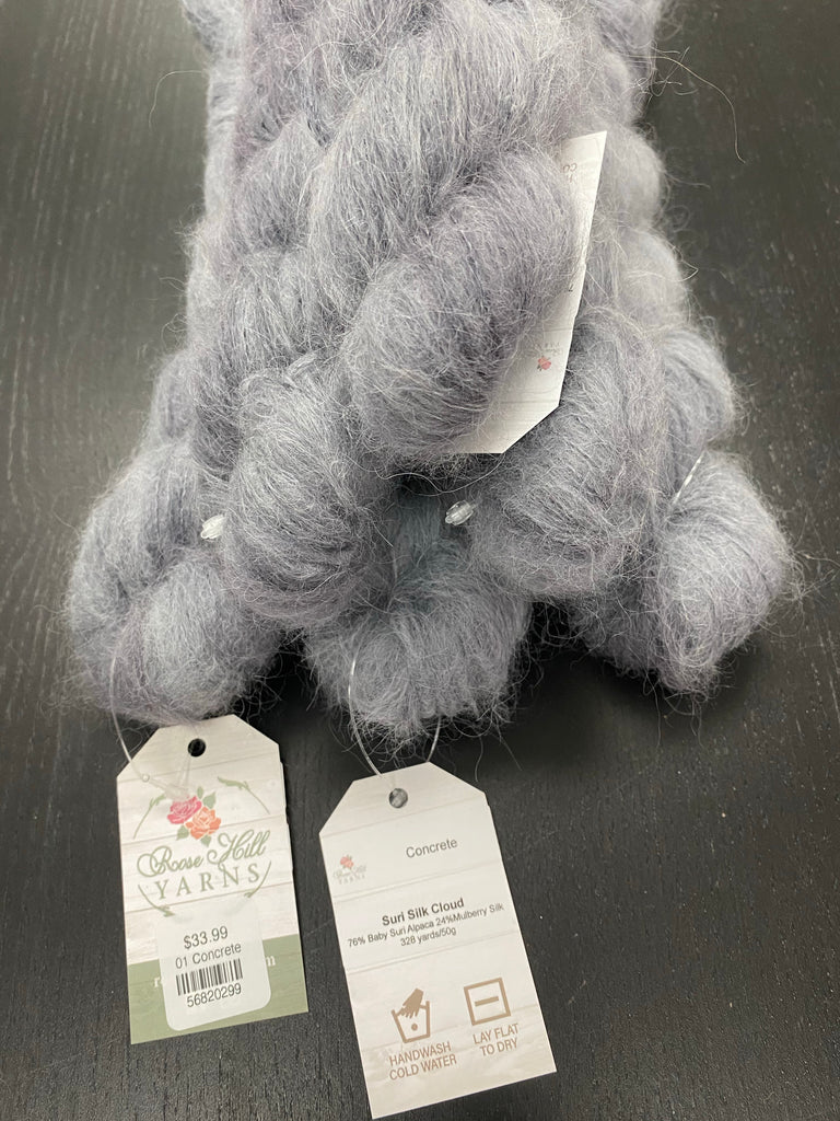 Rose Hill Yarns - Suri Silk Cloud