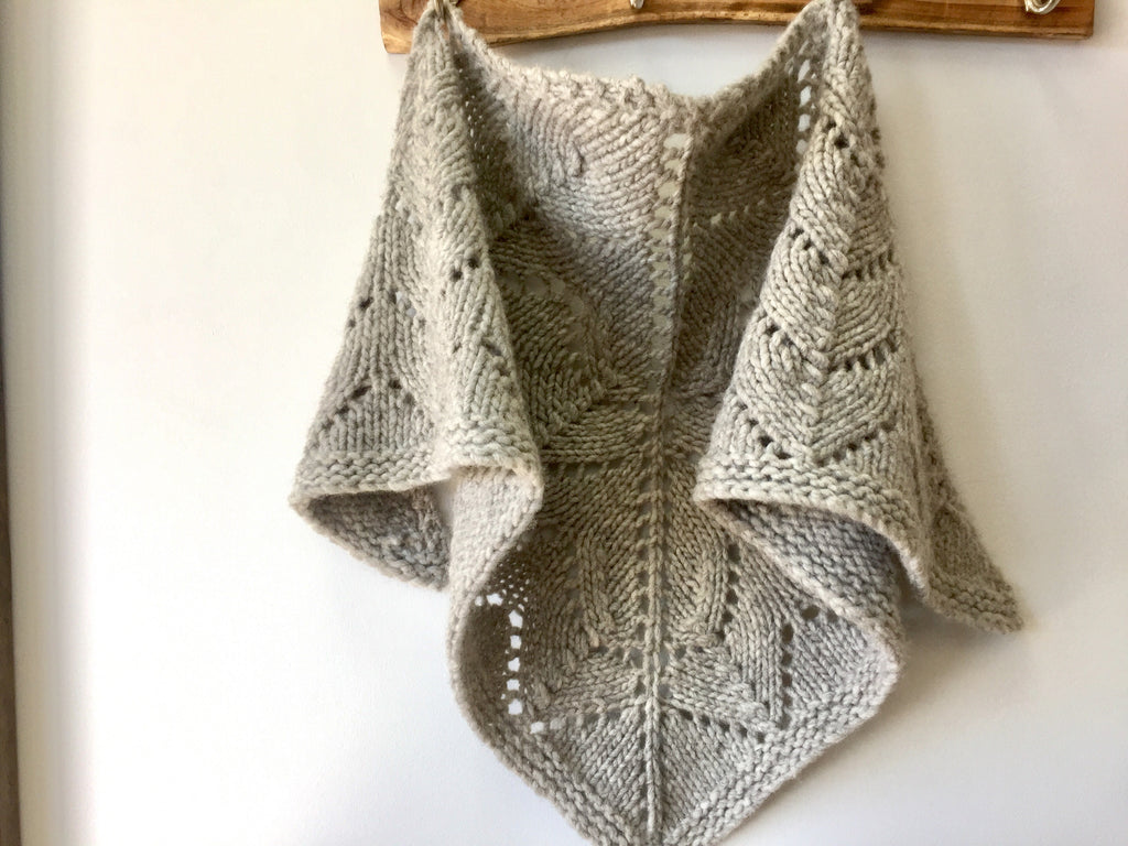 CLASS: ADVANCED BEGINNER SHAWL PROJECT