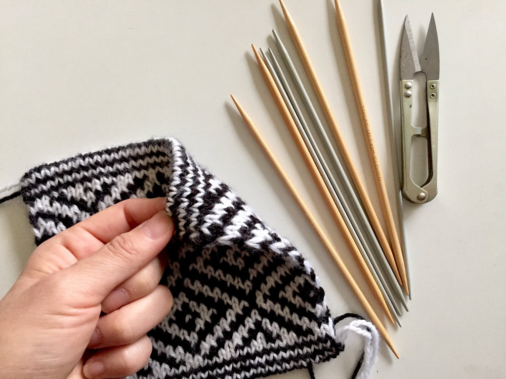 WORKSHOP: DOUBLE KNITTING