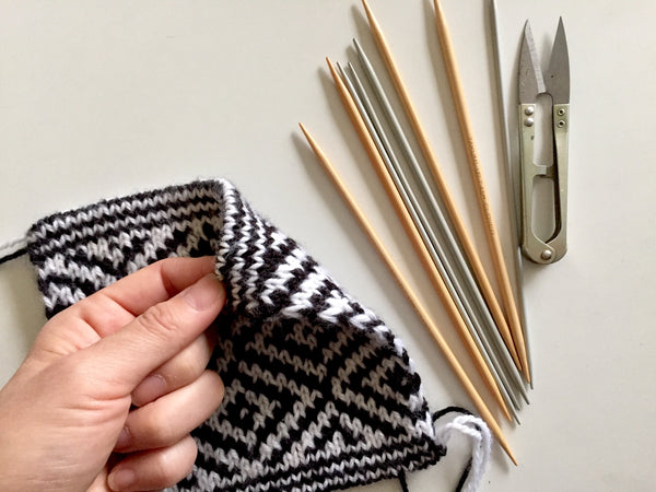 WORKSHOP: DOUBLE KNITTING WITH SUSAN