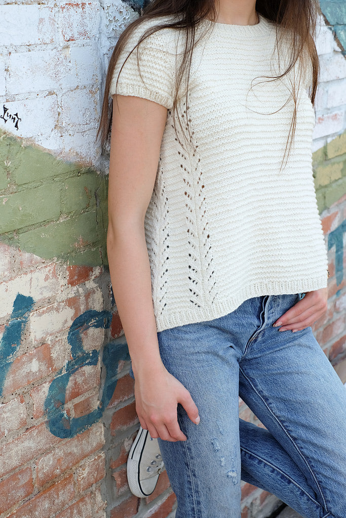 WORKSHOP + KAL: TOP DOWN SWEATER WITH SANDRA