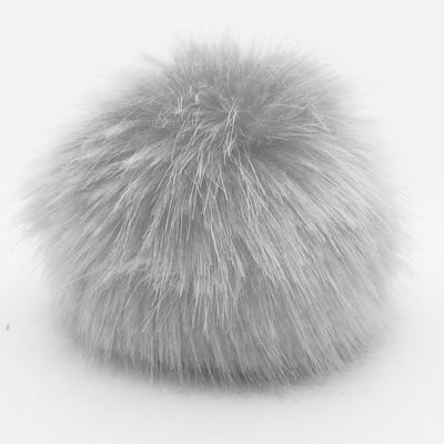 Fake Fur Pompoms - 10cm