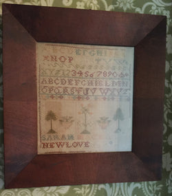 Sarah Newlove Sampler  -  SOLD