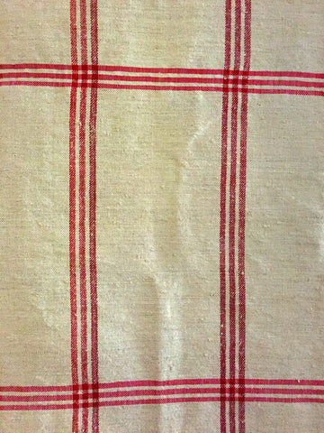 Linen Ticking Cover