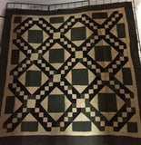 Amish Jacobs Ladder Quilt