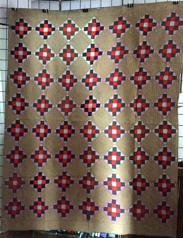 Amish Checkerboard Quilt