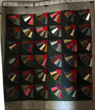 19th Century Amish Fan Quilt