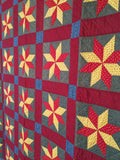 Mennonite Eight Point Star Quilt