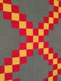 Mennonite Double Irish Chain Quilt