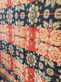 Mid 19th Century Jacquard Coverlet