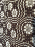 Large woven overshot Coverlet  - Sold
