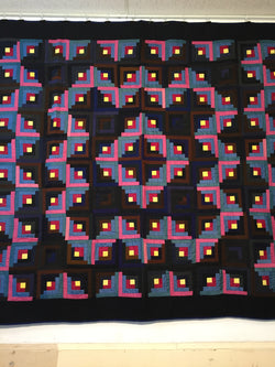 Mennonite Log Cabin Quilt