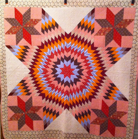 Graphic Star Quilt