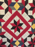 Eight-Point Star Mennonite Quilt