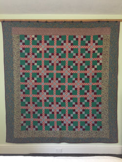Double Four Patch Mennonite Quilt
