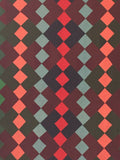 Diamonds, Nine Patch and Bar Quilt