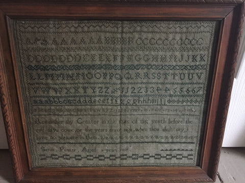 19th Century Sampler dated 1809