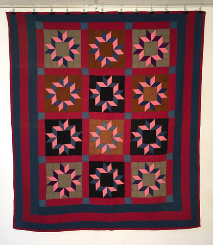 Crown Of Thorns Mennonite Quilt Carol Telfer Antiques