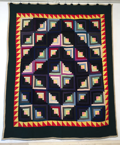 Mennonite Barn Raising Quilt