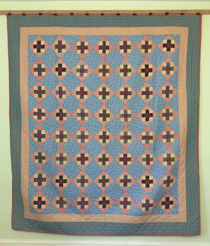 Crosses and Squares Mennonite Quilt