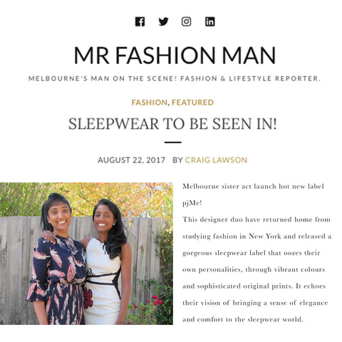 Mr Fashion Man - pjMe Launch