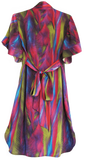 Fuchsia Silk Robe