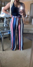 Multi Color Stripe Pants
