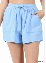 Spring Blue Short Set