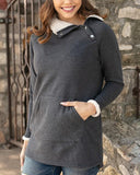 Snap Up Fleece Tunic
